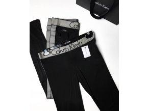 Calvin Klein logo legíny - černé