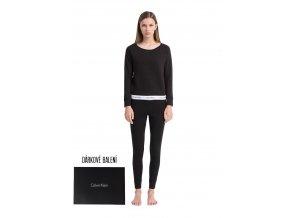Dárkové balení pro ni: Calvin Klein Mikina + tepláky - černá